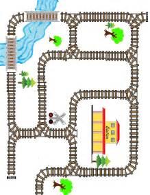 printable railroad tracks best photos of train track printable templates train