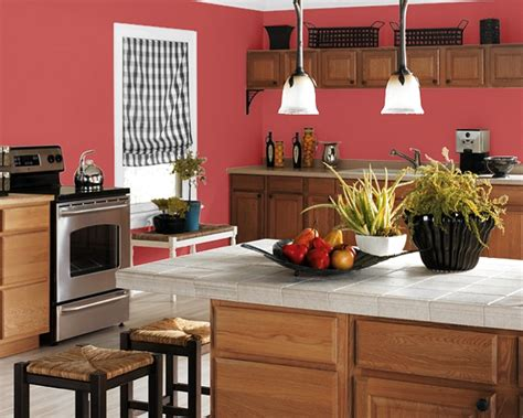 colour kitchen making your home sing red paint colors for a kitchen