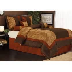 sybil 7 piece bedding comforter set walmart com