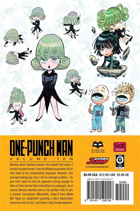 one punch man vol 10 paperback - 1421590158 One Punch Man Vol Anglais