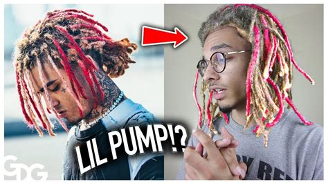 lil pump dreads why i dyed my dreads like lil pump youtube