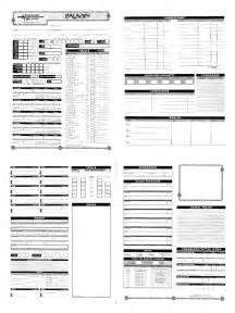 Dungeons and dragons character sheet 5