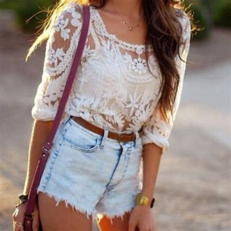 Pearl Flowy Blouse tank top lace flowy top white shirt white lace shirt