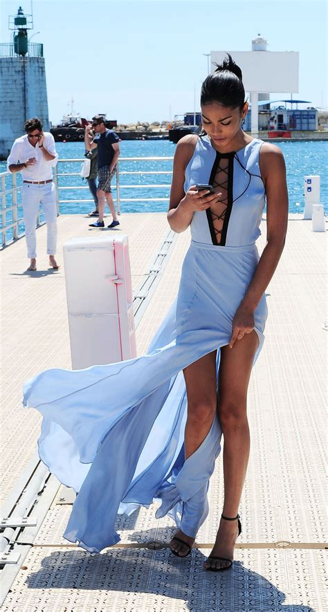 At Nike Cannes by Chanel Iman Style Out In Cannes May 2015 Celebsla
