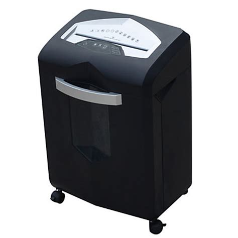 office depot coupons paper shredder ativa 14 sheet micro cut shredder blacksilver by office