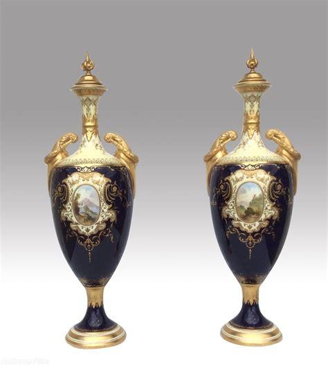 Coalport Vase by Antiques Atlas Beautiful Large Pair Of Antique Coalport