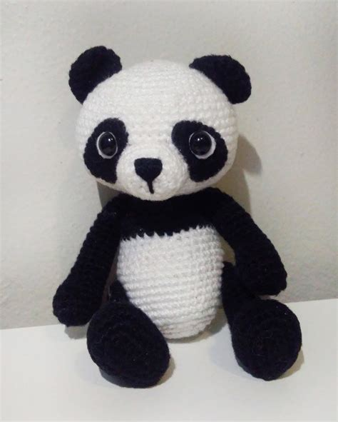 amigurumi panda panda amigurumi no elo7 bee handmade 932f9c