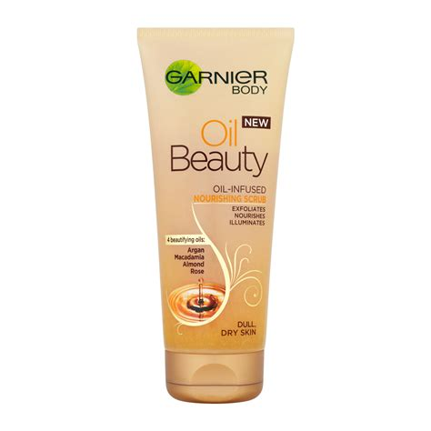 Garnier Scrub garnier infused nourishing scrub 200ml feelunique
