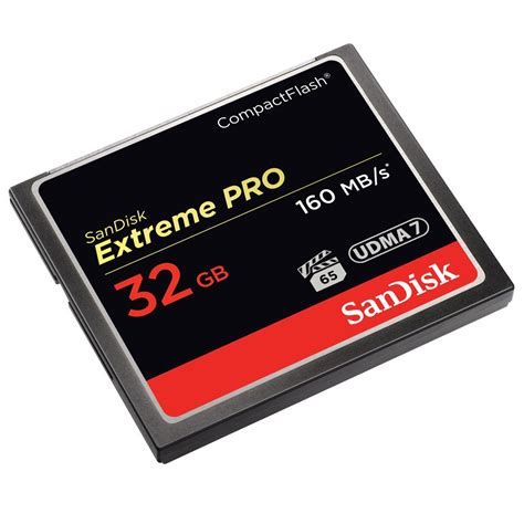 Jual Sandisk Cf Pro 32gb sandisk pro compact flash card 160mb s 32gb sdcfxps 032g black jakartanotebook