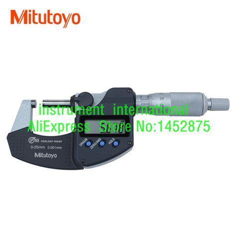 Micrometer 0 25mm 0 001mm mitutoyo 293 240 30 digital metric micrometer 0 25mm 0 001mm in micrometers from tools on