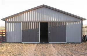 Pole Barn Sliding Doors Master Gallery Archives Hansen Buildings