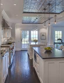 Kitchen Ceiling Ideas by Tremendous Tin Ceilings In Kitchens Decorating Ideas
