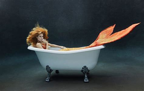 Mermaid Bathtub by S Design Center Brings The Outdoors Inside