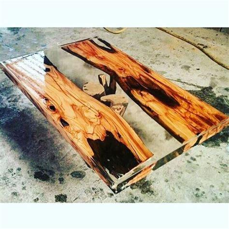 Meja Epoxy table 224 caf 233 en bois brut et 233 poxy meubles michaud meubles michaud st j 233 r 244 me