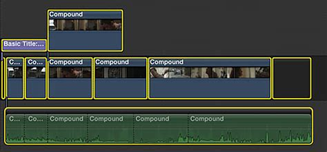 final cut pro group clips how to make the most out of compound clips in fcpx