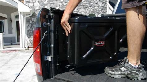 undercover swing case installation undercover swing case swingcase toolbox install on 2012
