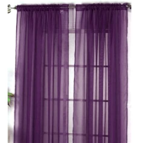 curtains longer than window 1 piece home sheer voile door window curtain panel drape