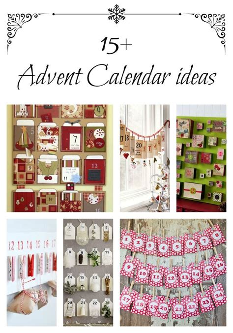 15 advent calendar ideas for christmas love these diy