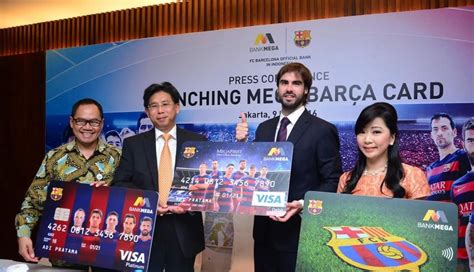 Left Bank Gift Card - bank mega and fc barcelona officially launched co branded bank cards fc barcelona