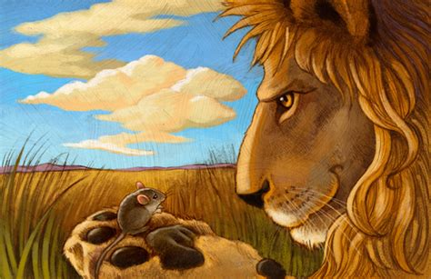 the lion and the the lion and the mouse