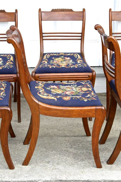 Furniture In Philadelphia by Six Philadelphia Klismos Dining Chairs For Sale At 1stdibs