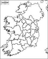 Ireland Blank Map by Blank Map Ireland Rivers