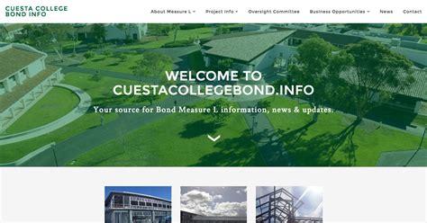 cuesta college map cuesta college bond measure l information website