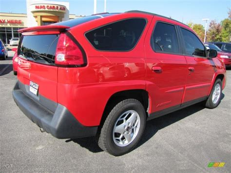 2003 Victory Red Pontiac Aztek 38475402 Photo 3