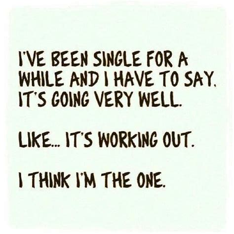 single jokes being single humor quotes