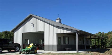 Garage Living Quarters steel living quarters in iowa and illinois