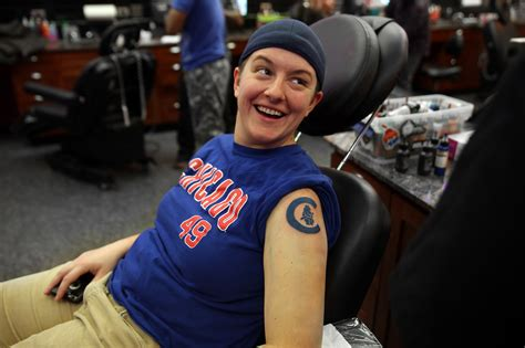 world series tattoo a permanent reminder parlors see rising interest