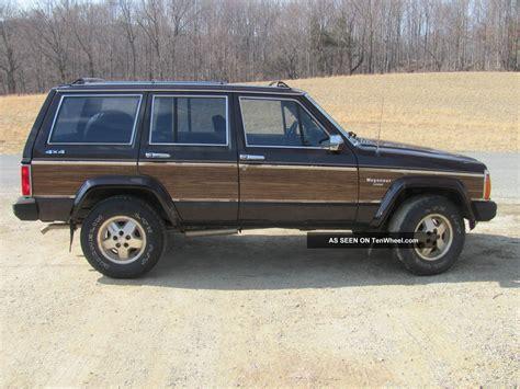 1989 jeep wagoneer limited 1989 jeep wagoneer limited sport utility 4 door 4 0l