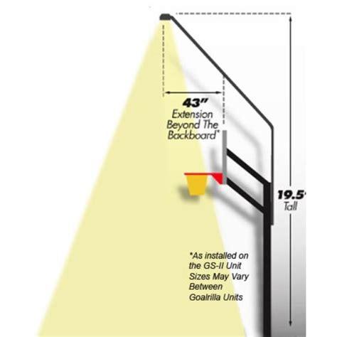 basketball hoop light fixture basketball lighting system lighting ideas