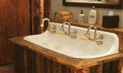 farmhouse bathroom sink faucet cast iron sink and vanity rustic antique bathroom sink