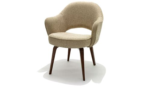 Armchair Legs by Saarinen Executive Arm Chair With Wood Legs Hivemodern