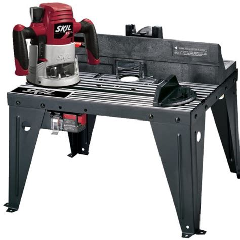 skil router table skil ras4510 router and router table combo pack