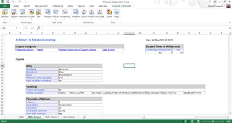 xlminer tutorial getting started with machine learning in ms excel using