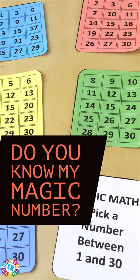 guess my number printable cards amaze your students with this math magic trick games 4