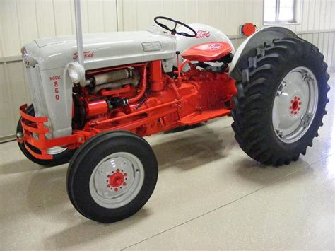 ford tractor color schemes