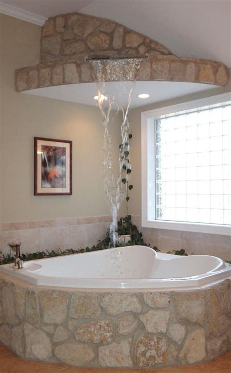 bathroom designs with jacuzzi tub master inside hot ideas a waterfall fills this corner jacuzzi tub in a master
