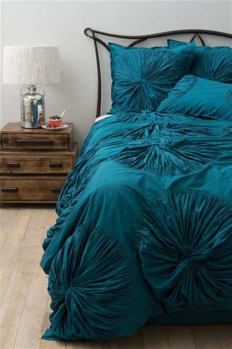 Turquoise Duvet Set Lanna Duvet Cover Turquoise Contemporary Duvet Covers