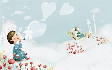 wallpaper korean cute cartoon cute korean backgrounds wallpaper cave