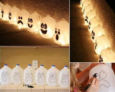 Halloween Decorations To Make At Home by 3 Diy Halloween Ghost Decorations Home Design Garden