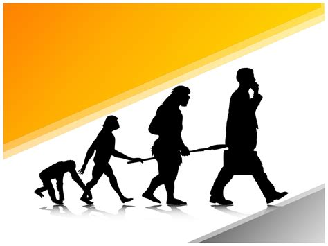 ppt templates free download evolution human evolution powerpoint template ppt slide human