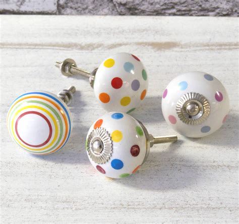 children s decorative drawer handles colourful childrens bedroom cupboard door knobs by pushka