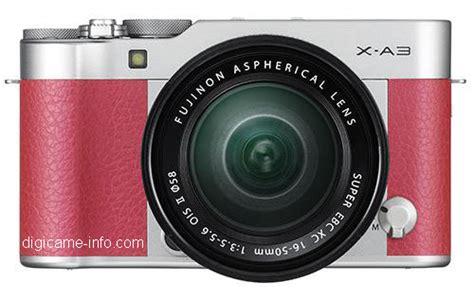 Kamera Fujifilm Terbaru rk5 bocoran gambar dan spesifikasi kamera fujifilm x a3 mirrorless entry level terbaru