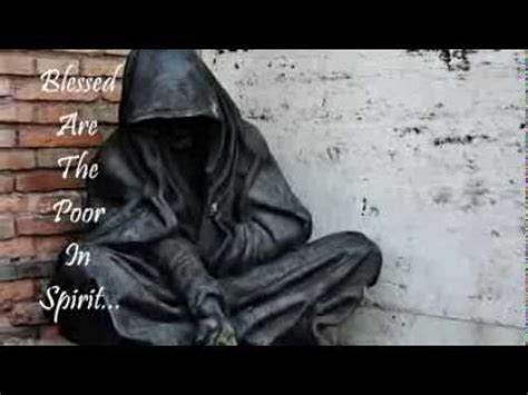 poor in spirit catholic chaplaincy blessed are the poor in spirit youtube