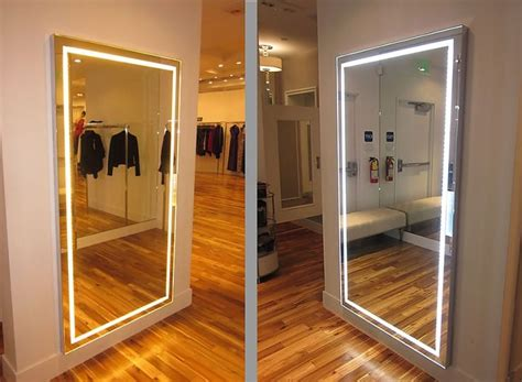 fitting room mirrors mirror design ideas icon international bedroom mirrors with lights scenesetter tiple