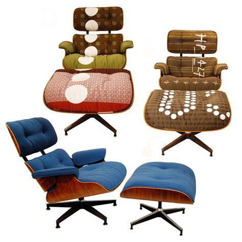 vintage eames lounge chairs  maharam makeovers