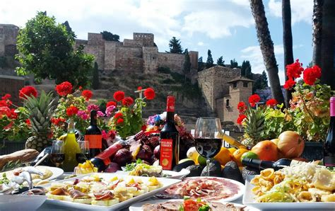 restaurants  beautiful views  malaga